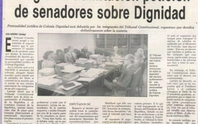 Presidente de la república tiene cinco días para contestar acogida a tramitación petición de senadores sobre Dignidad