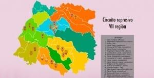 Circuito represivo en la VII Región del Maule