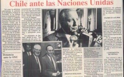 Alemania denunció al gobierno de Chile ante las Naciones Unidas