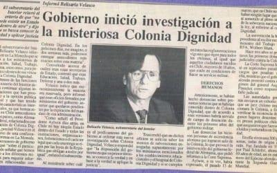 Informó Belisario Velasco, gobierno inició investigación a la misteriosa Colonia Dignidad