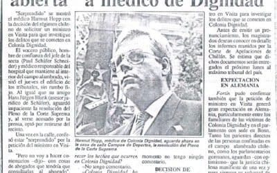 """Canciller dejó con la """"boca abierta"""" a médico de Dignidad"""