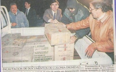 Incautación de documentos de Colonia Dignidad