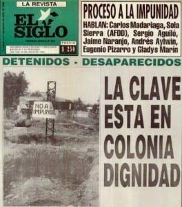 Detenidos Desaparecidos. La clave está en Colonia Dignidad