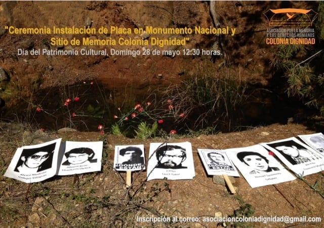 AMCD realizará actividad conmemorativa al interior de Colonia Dignidad