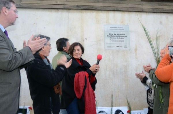 Palabras en ceremonia de instalación de placa que reconoce a Colonia Dignidad como Monumento Histórico y Sitio de Memoria