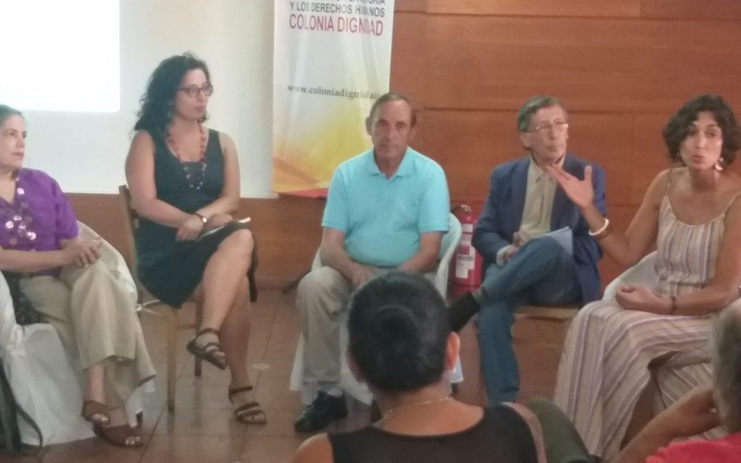 Asociación por la Memoria y los Derechos Humanos Colonia Dignidad presenta Archivo Oral testimonial en la Ciudad de Parral