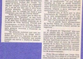 """Por injurias y calumnias abogado de dignidad anunció una """"querella"""""""