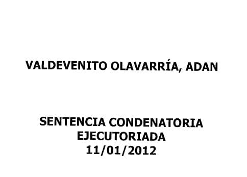 Causa Adrián Valdevenito