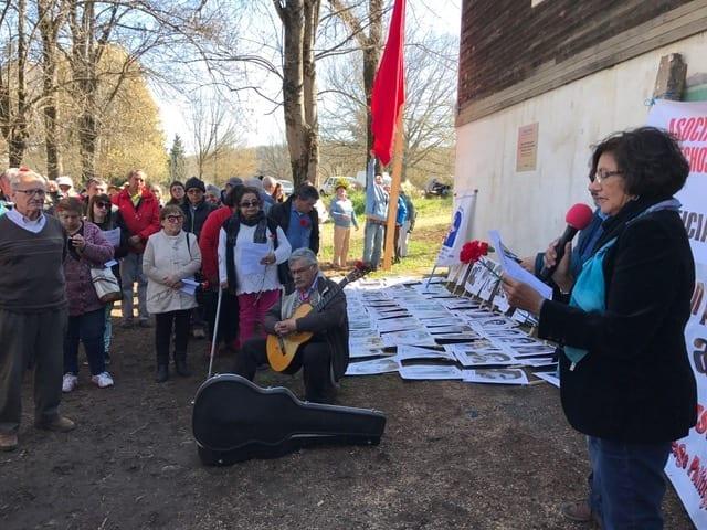 Más de un centenar de manifestantes exigieron  justicia en Colonia Dignidad