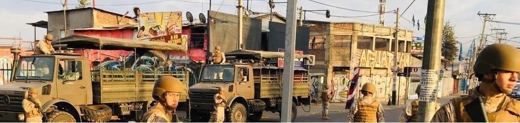 La RESLAC demanda el inmediato repliegue de las fuerzas armadas y la vigencia de garantías básicas en chile