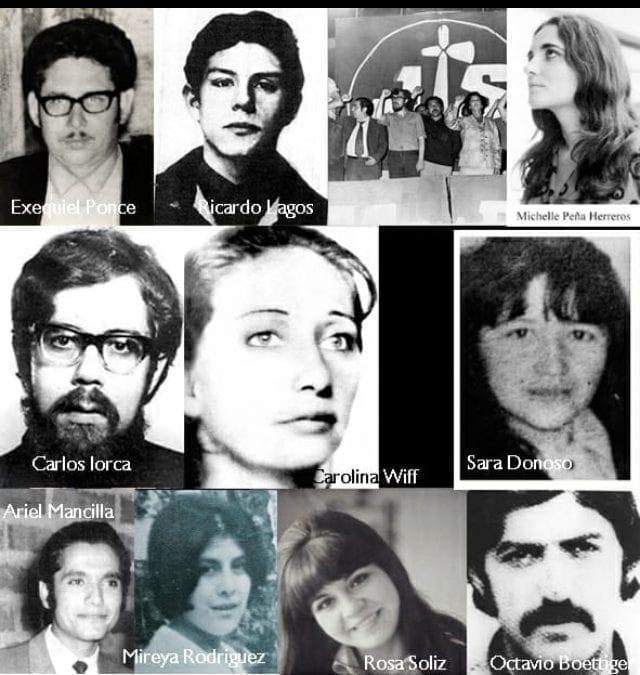 Homenaje a las compañeras y compañeros de la primeradirección clandestina del Partido Socialista en dictadura, asesinado el 26 de junio de 1975