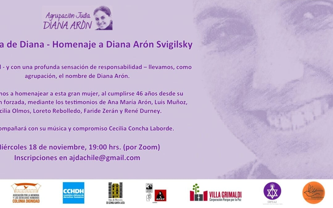 La sonrisa de Diana. Homenaje a Diana Arón Svigilsky